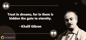Entrepreneur Aspiring quote-Khalil Gibran