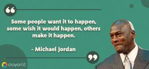 Entreprenueur Aspiring Quote- Micheal Jordan