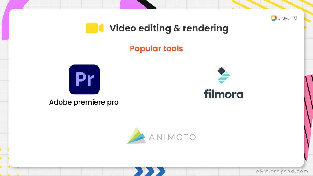 Video Editing & Rendering Tools