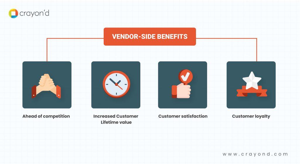 Vendor-side benefits