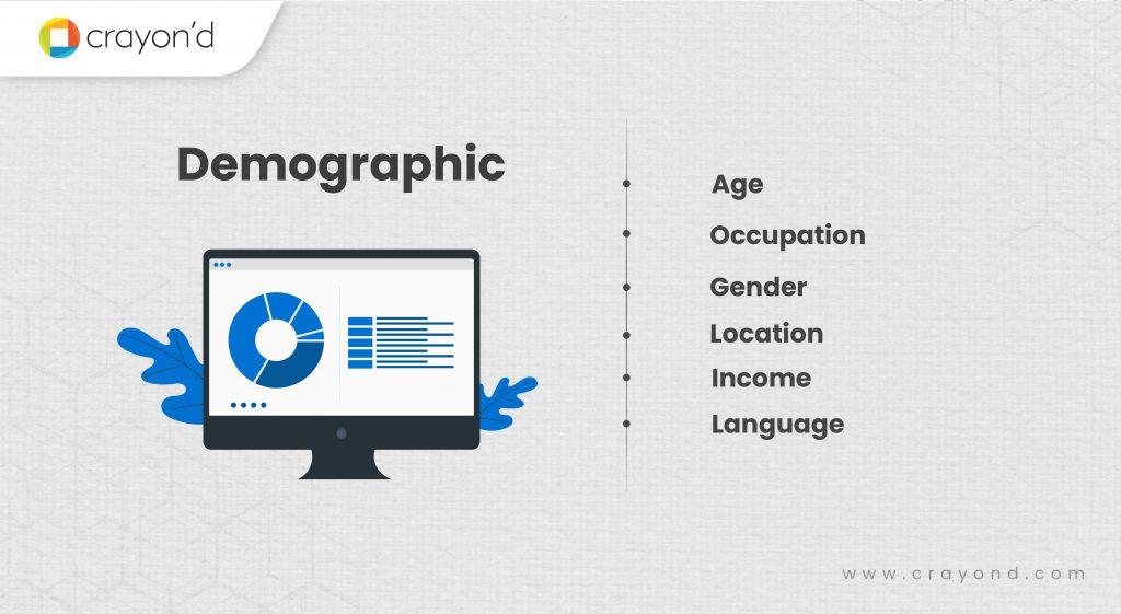 User Segmentation - Demographic